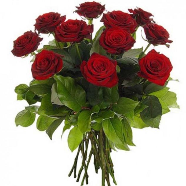 Букет из красных роз 15 шт.
